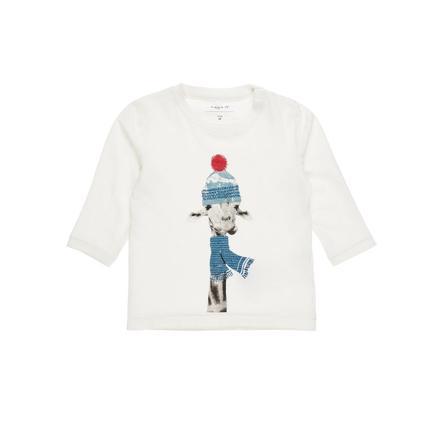 name it Boys Koszula z długim rękawem Filol śnieżnobiała