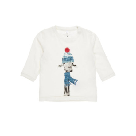 name it Boys Langarmshirt Filol snow white