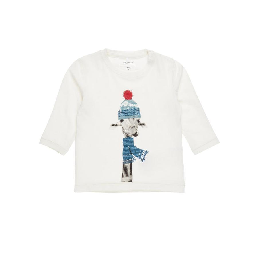 name it Boys Lange mouwen overhemd Filol sneeuwwit