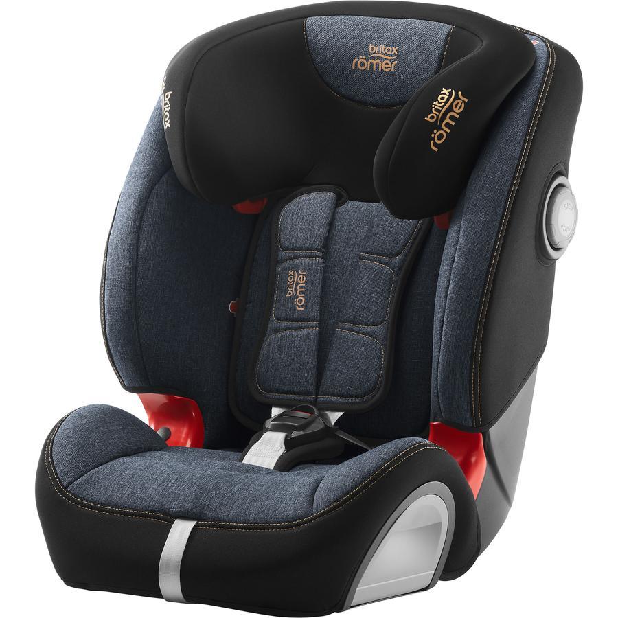 britax römer silla de coche Evolva 123 SL SICT Azul Marble