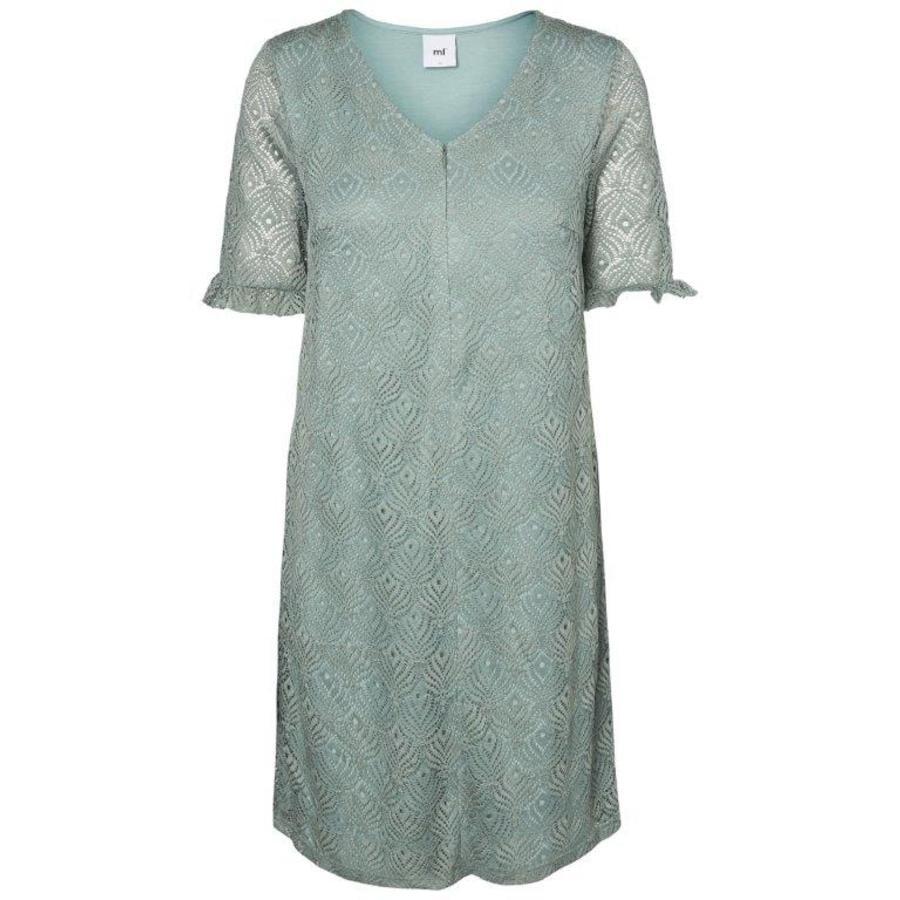 mama licious těhotenské šaty MLLUCY Chinois zelené