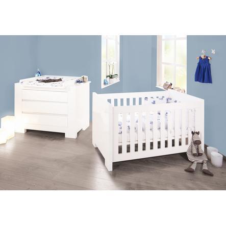 2 Delige Babykamer.Pinolino 2 Delige Kinderkamer Sky Pinkorblue Nl