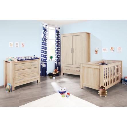 Pinolino Kinderzimmer Carus 2-türig breit