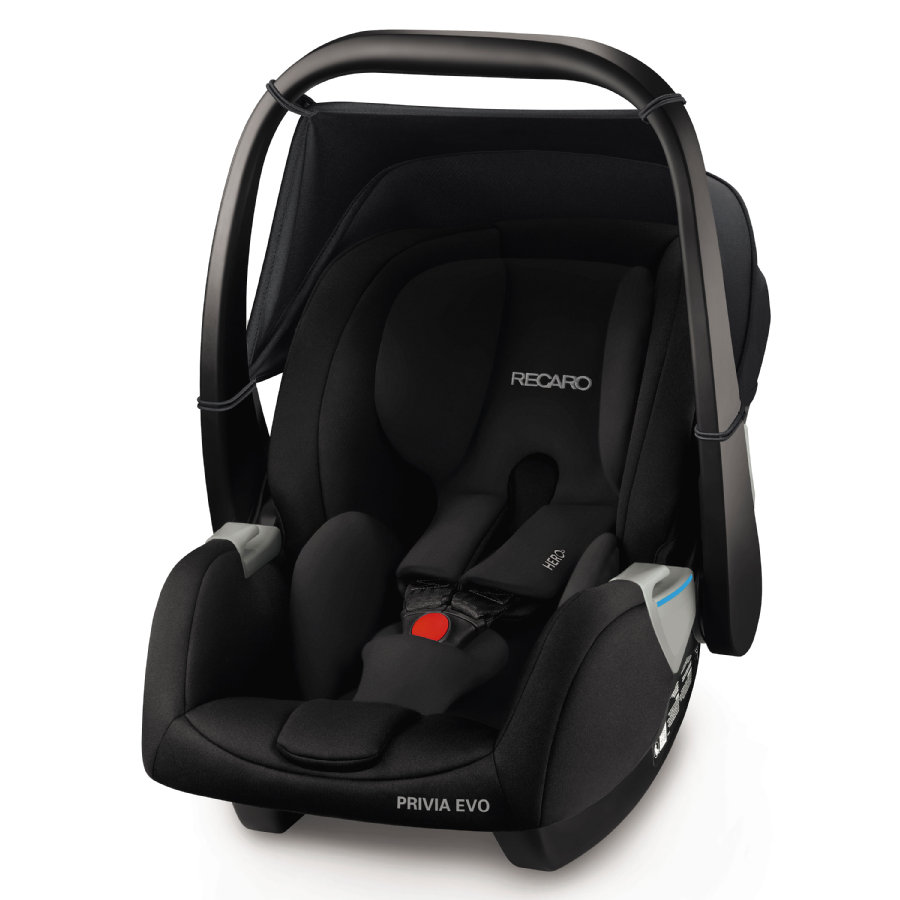 RECARO Babyschale Privia Evo Performance Black