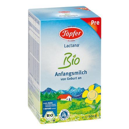 TÖPFER Lactana Organic Infant Formula 600g