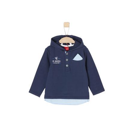 s.Oliver Boys Sweat-shirt bleu foncé