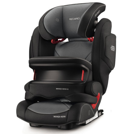 RECARO Seggiolino auto Monza Nova IS Seatfix Carbon Black