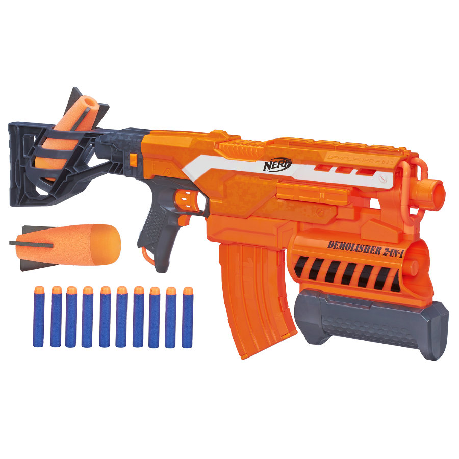 HASBRO Nerf N-Strike Elite 2-in-1 Demolisher