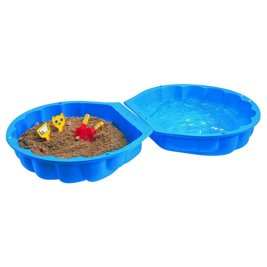 BIG Sand-/Wasser-Muschel im Karton, blau