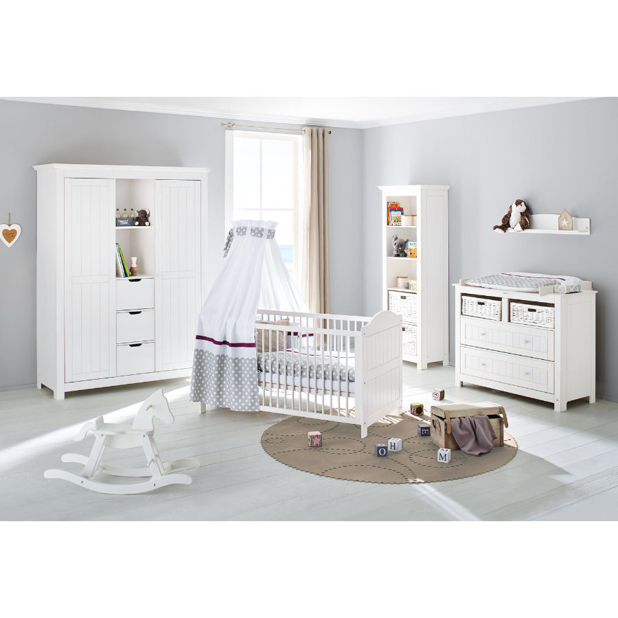 pinolino kinderzimmer nina breit 2 t rig gro. Black Bedroom Furniture Sets. Home Design Ideas