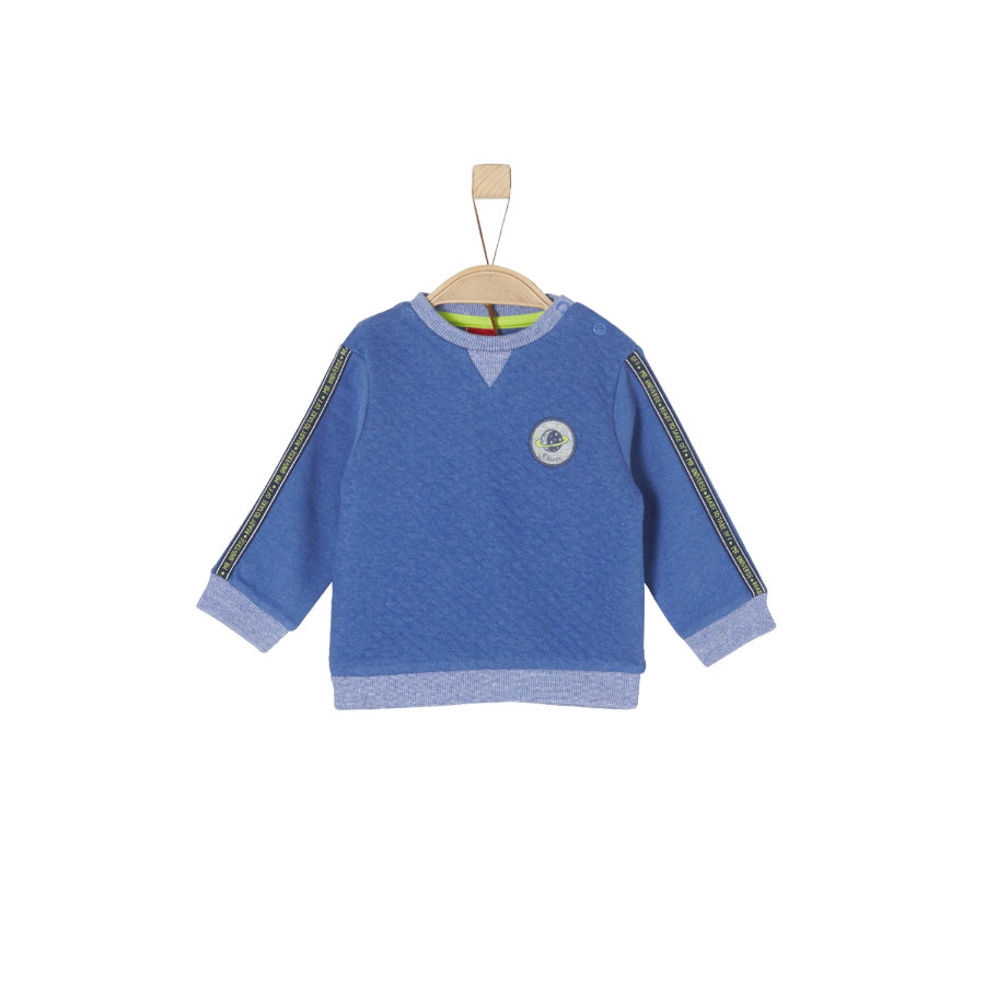 s.Oliver Boys Bluza bluza niebieski melange