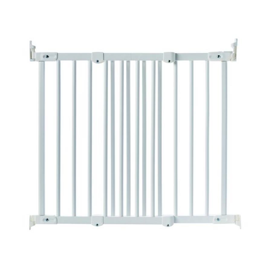 Baby Dan Flexi Fit Holz Puerta de seguridad blanca