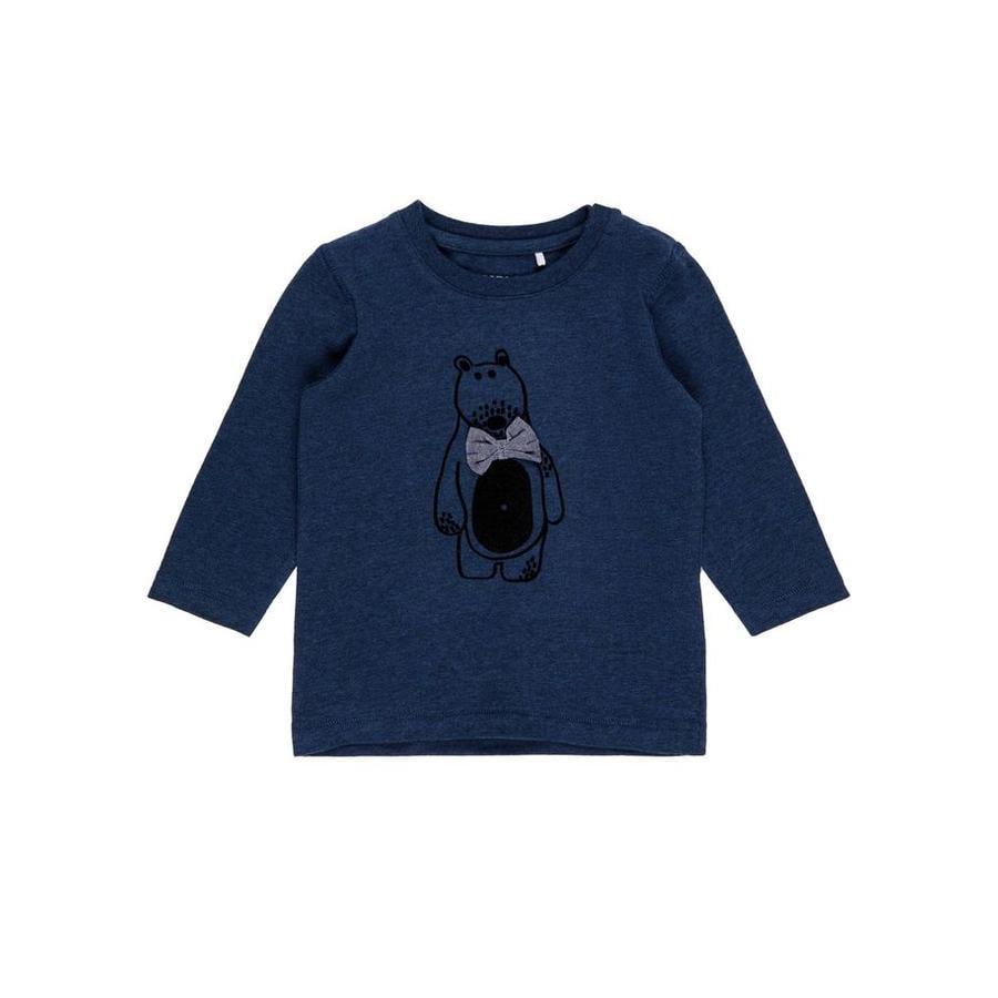 name it Girl Camisa de manga larga Fiole stone blue