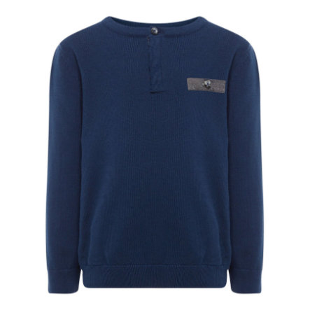 name it Boys Jersey Filister vestido azul