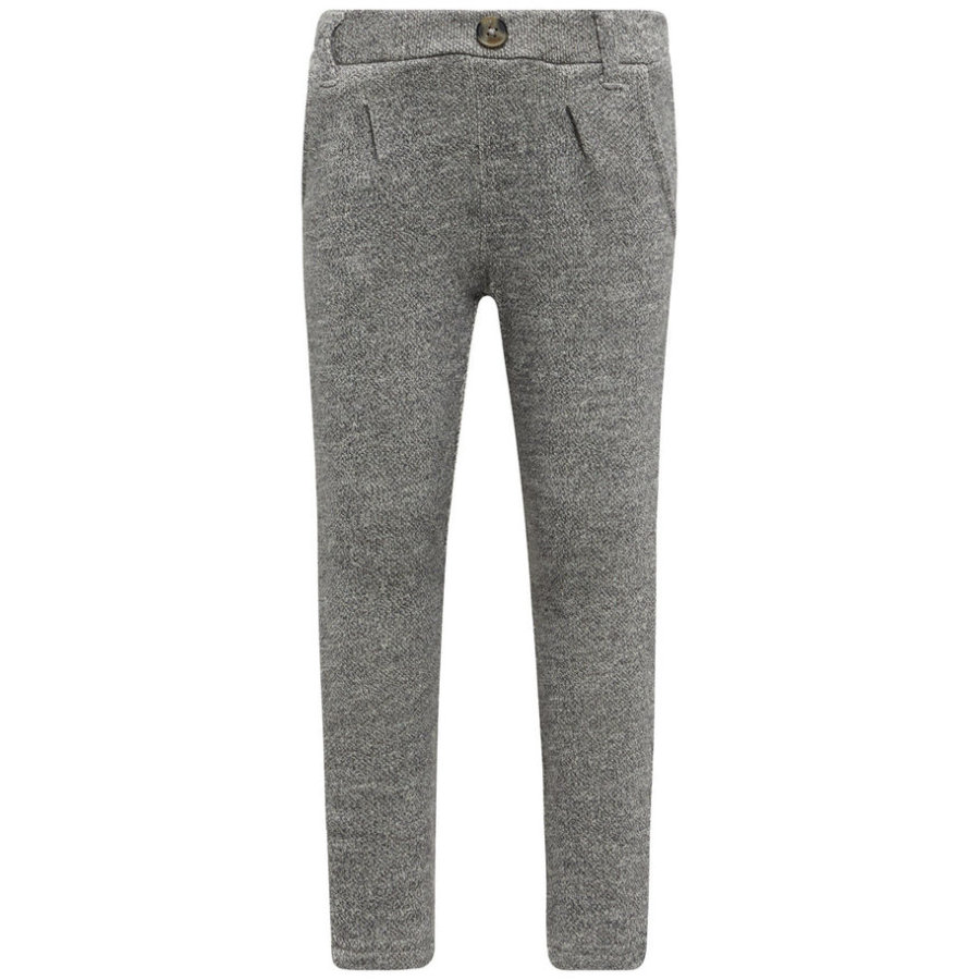 name it Boys Pantalones de chándal Fint gris mélange