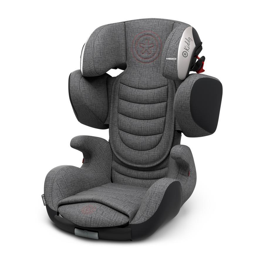 Kiddy child seat Cruiserfix 3 Grey Melange Hot Red