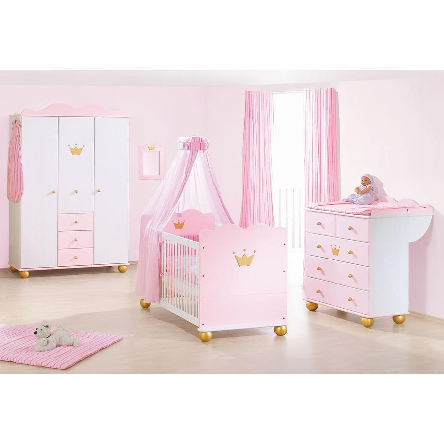 PINOLINO Chambre enfant Princesse Caroline, 3 pcs