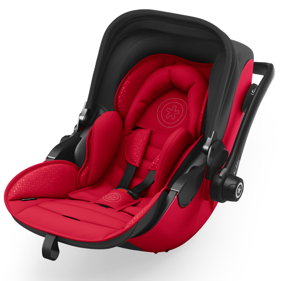 Kiddy Babyschale Evoluna i-Size 2 inklusive Isofix Base 2 Chili Red