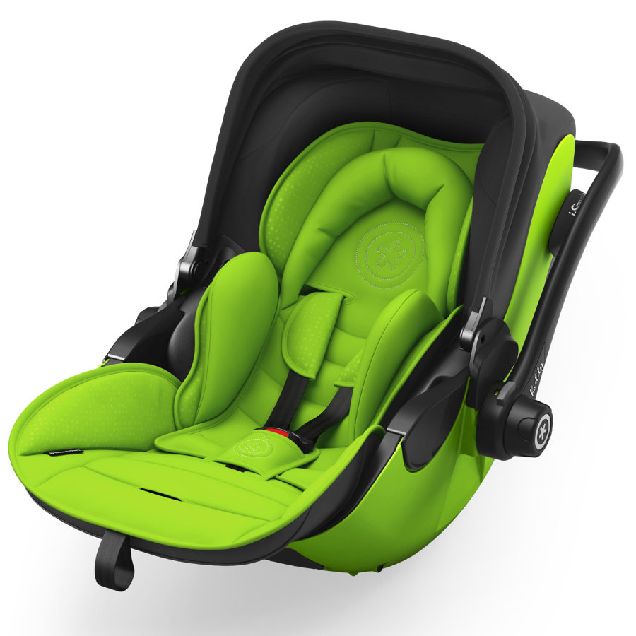 Kiddy Babyskydd Evoluna i-Size 2 inklusive Isofix Base 2 Spring Green