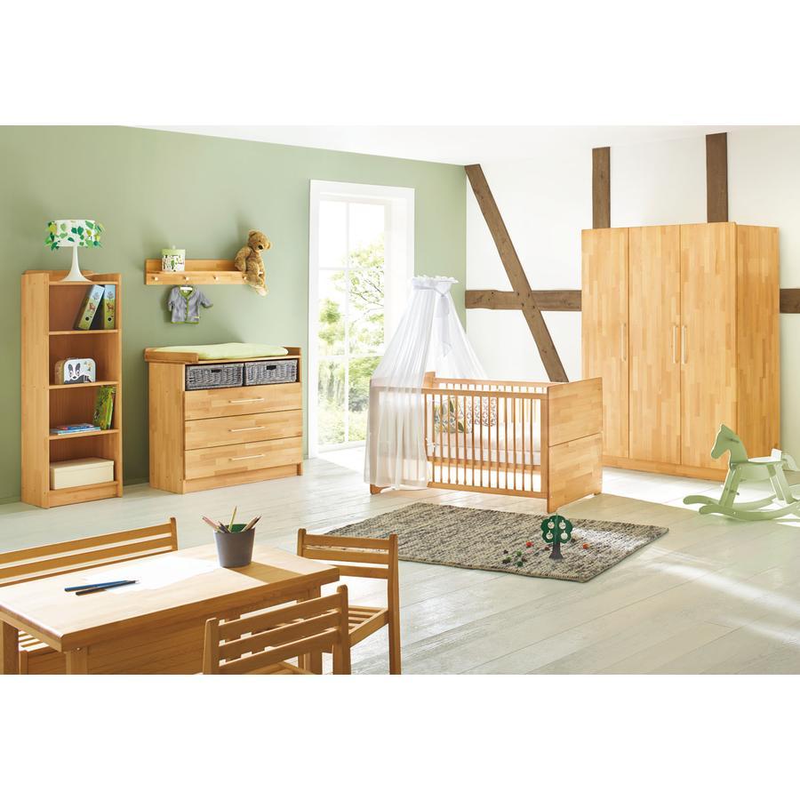 PINOLINO Habitación para bebé 3 piezas Natura grande ancho