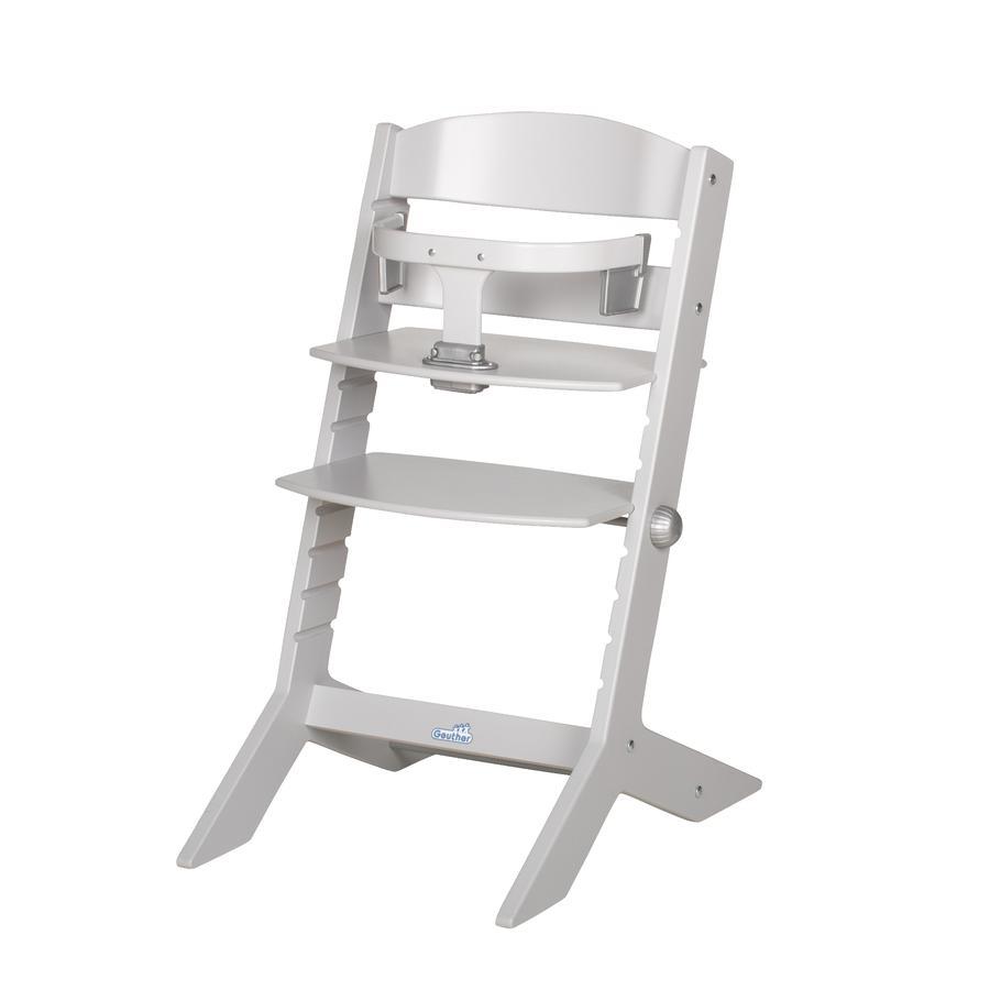 Geuther Chaise haute bébé Syt gris