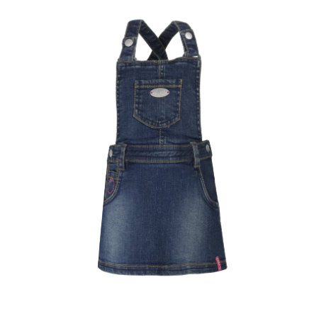 correva! Girl Gonna a patta in denim blu scuro denim