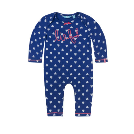 rende! Girl s Overall allover blauw