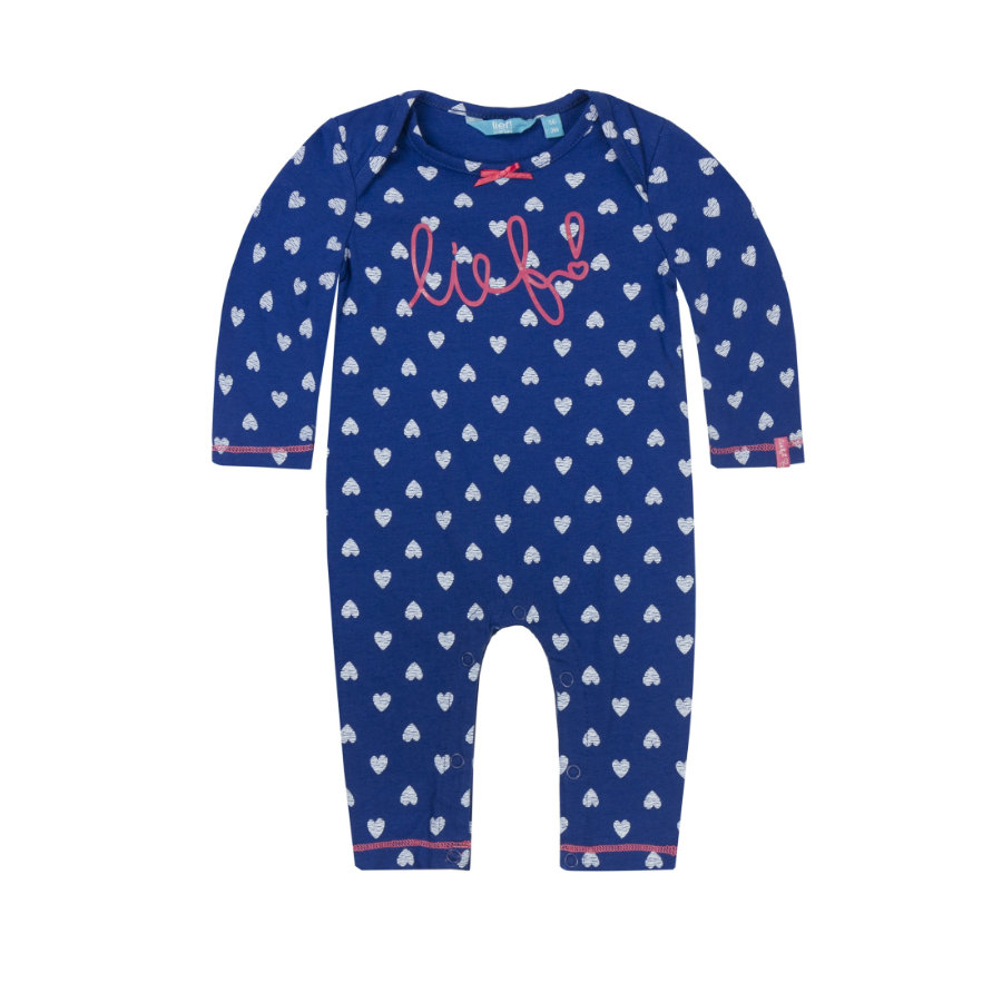 lief! Girls Overall allover blue