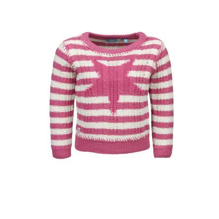 corrió! Girl s Suéter fandango rosa