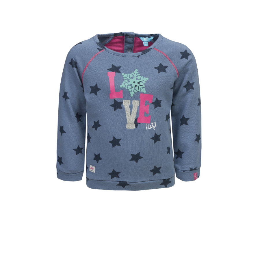 lief! Girls Sweatshirt blue