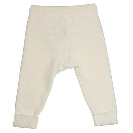 maximo Pantalon en laine éco-blanc-blanc