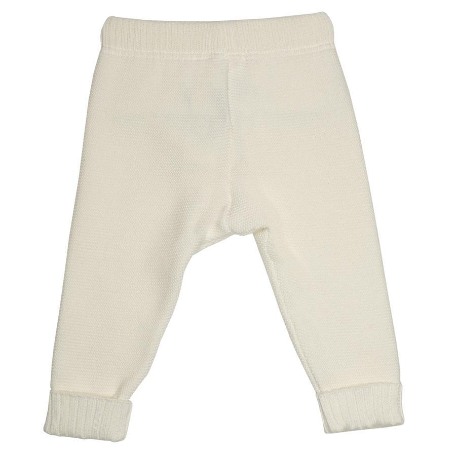 maximo Spodnie z eko-wełny-białej.