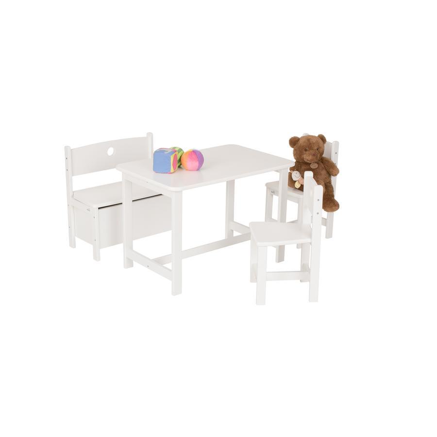 Geuther Ensemble table chaises enfant Pepino, blanc