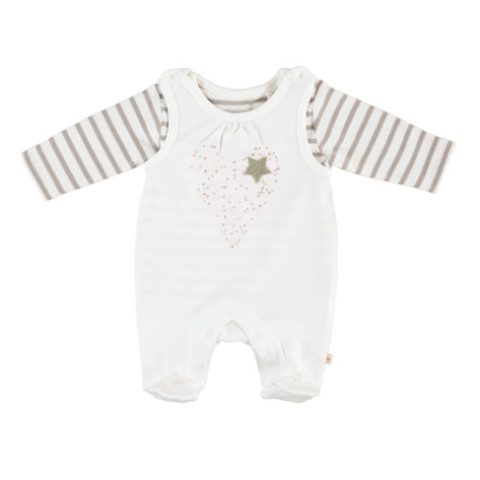 STACCATO Girls Strampler Set offwhite
