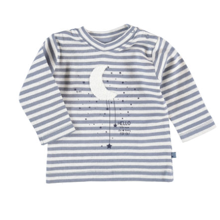 STACCATO Boys Langarmshirt d'blue melange stripes