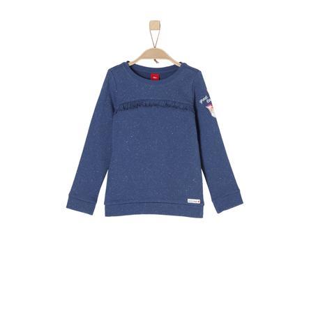 s.Oliver Girl s bluza bluza niebieski melange