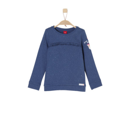 s.Oliver Girls Sweatshirt blue melange