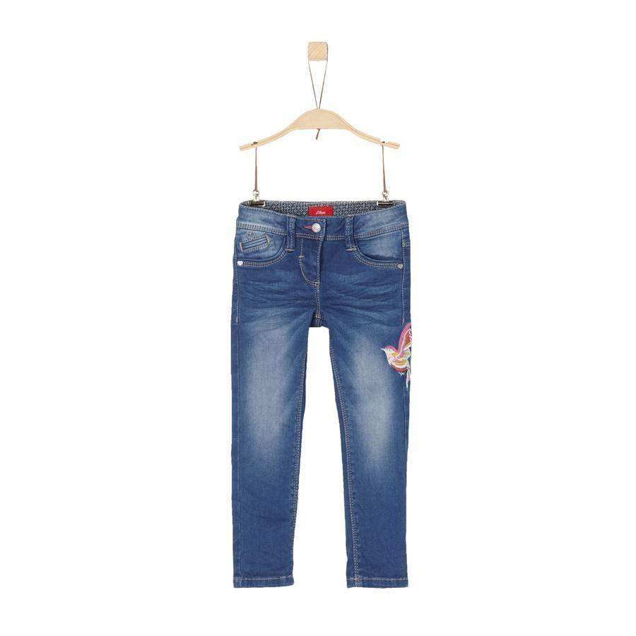 s.Oliver Girl s spijkerbroek blauw denim stretch