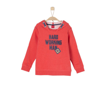 s.Oliver Boys Sweat-shirt rouge mélangé