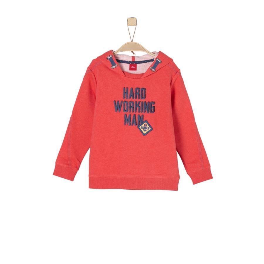 s.Oliver Boys Sweatshirt red melange