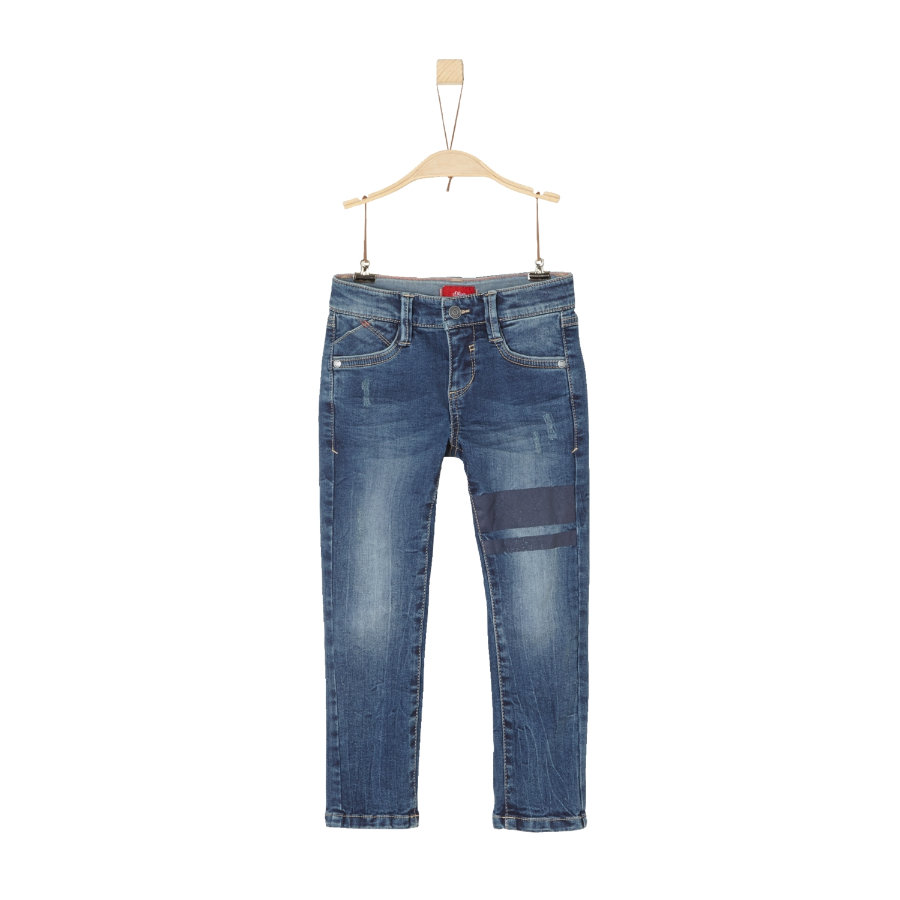 s.Oliver Boys Jeans azul denim stretch