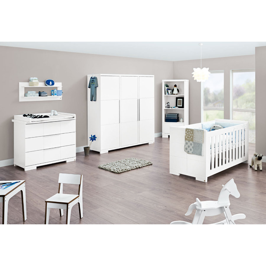 Pinolino Chambre d'enfant Polar, armoire 3 portes