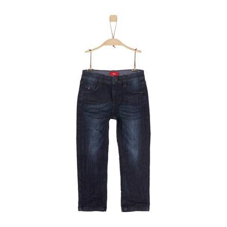 s.Oliver Jeans blue denim stretch slim