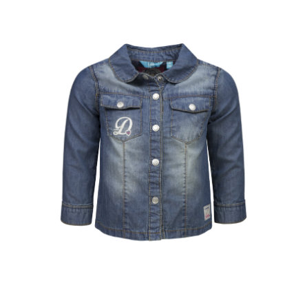 blouse ran ! Girl chemisier en denim bleu