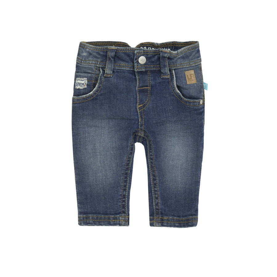 corrió! Boys Pantalones denim azul oscuro