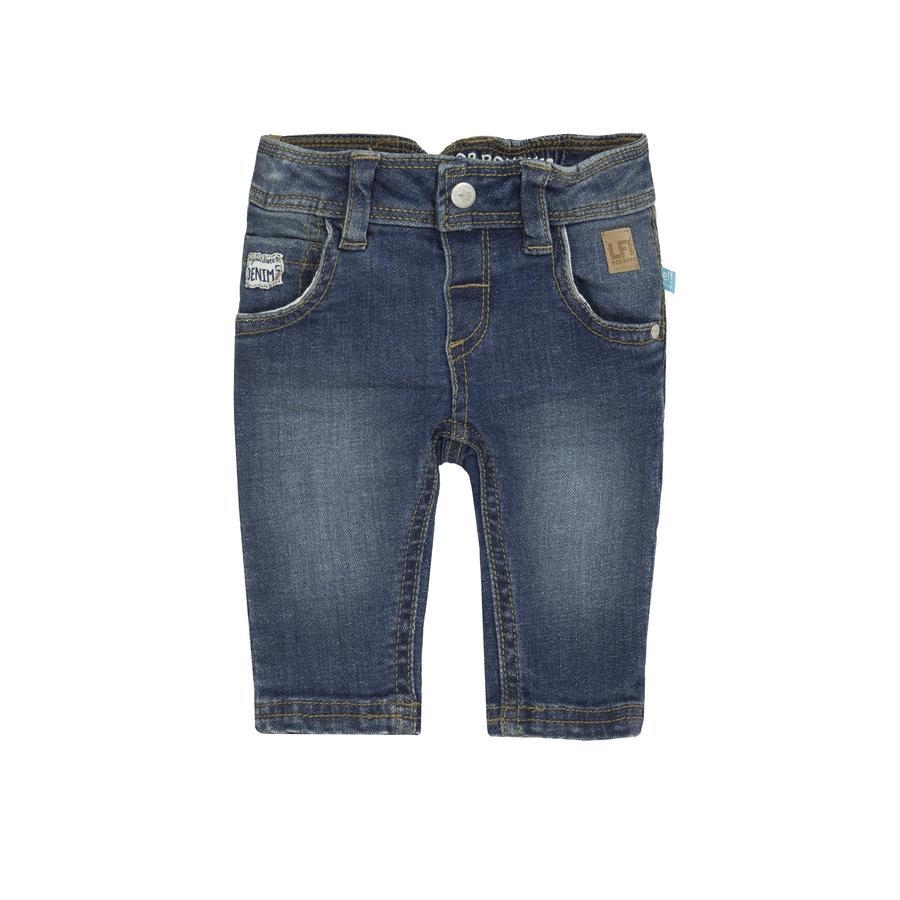 uciekła! Boys Spodnie z ciemnoniebieskiego denimu.