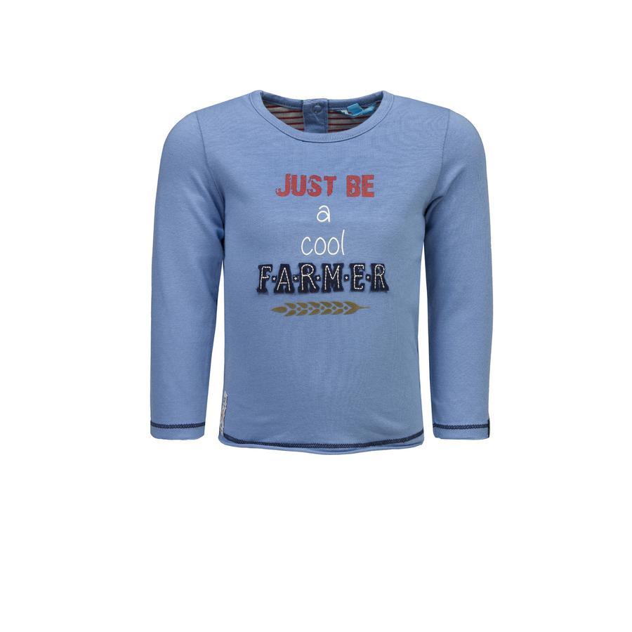 Rennen! Boys Shirt met lange mouwen parijsblauw