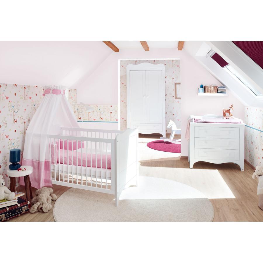 PINOLINO Habitación para bebé 3 piezas Fleur ancho