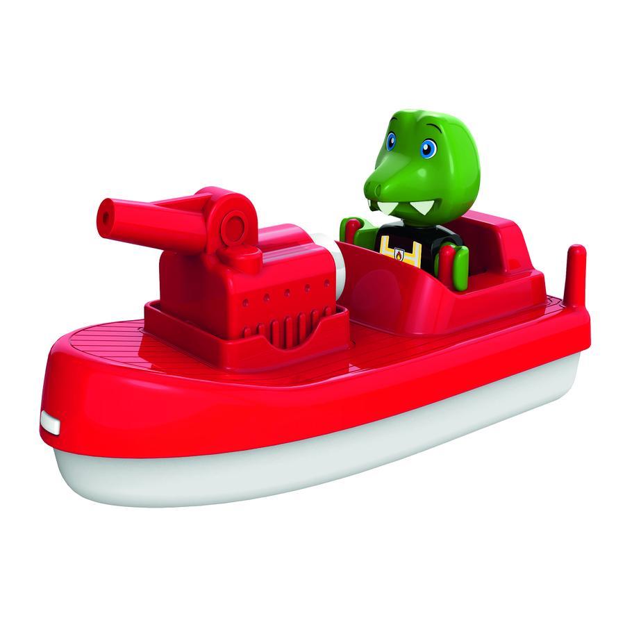 AquaPlay Brandweerboot met speelfiguur