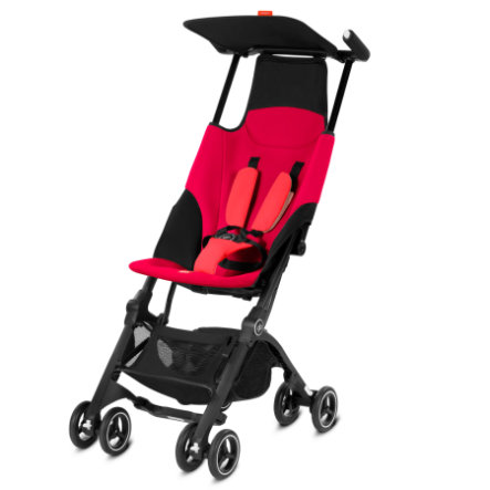 gb GOLD Buggy Pockit Cherry Red-red